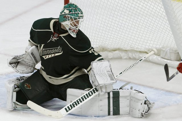 Le gardien du Wild du Minnesota, Josh Harding.... (Photo Ann Heisenfelt, AP)