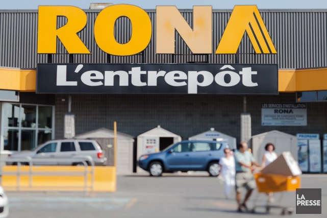 Rona est un distributeur et détaillant d'articles de... (Photo Édouard Plante-Fréchette, archives La Presse)