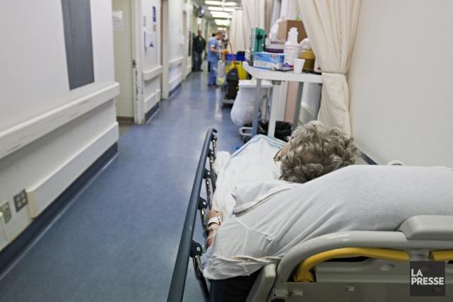 D'autre part, la durée des séjours à l'hôpital,... (PHOTO FRANÇOIS ROY, ARCHIVES LA PRESSE)