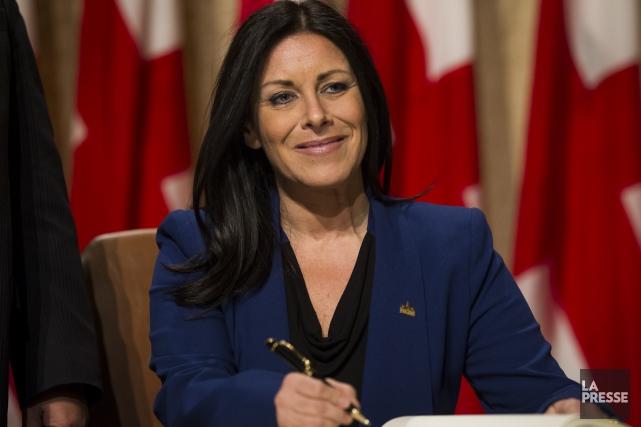Manon Gauthier a été nommé responsable de la... (Photo: Olivier Pontbriand, La Presse)