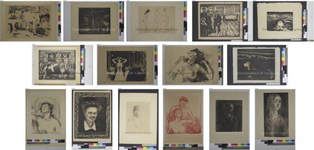 Quelques-une des oeuvres faisant partie du «trésor nazi»... (Photo: archives AFP)