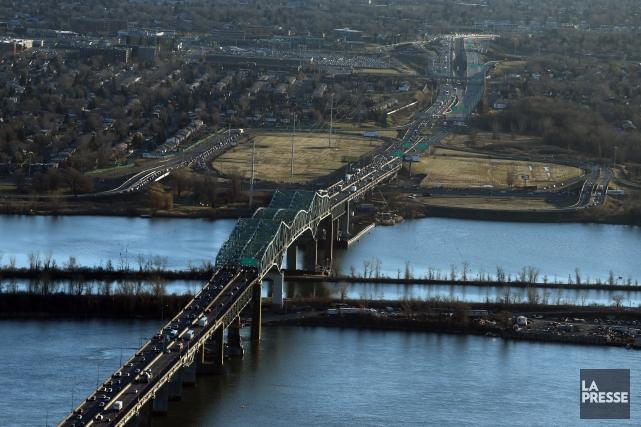 Le pont Champlain.... (Photo Martin Chamberland, La Presse)