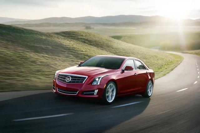 L'actuelle Cadillac ATS.... (Photo fournie par General Motors)