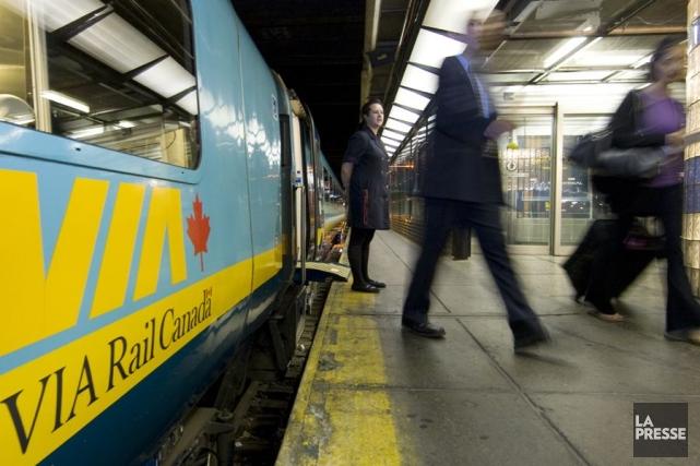 Il semble bien que ce soit la fin pour le patron de Via Rail. Le ministre des... (Photo: Robert Skinner, Archives La Presse)