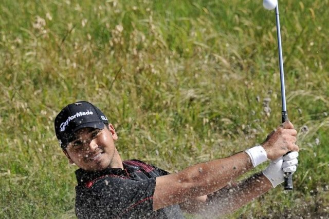 Jason Day a signé un premier triomphe en... (Photo Andy Brownbill, AP)