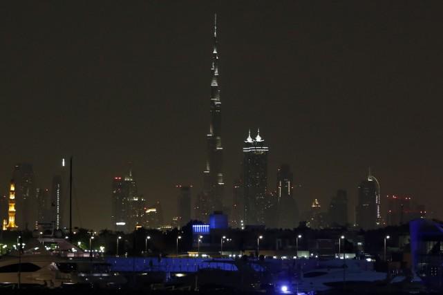 Dubaï, une populaire destination touristique offrant notamment le... (Photo KARIM SAHIB, archives AFP)