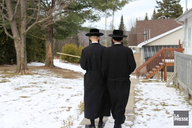 Certains membres de la secte Lev Tahor font... (Photo Archives La Presse)