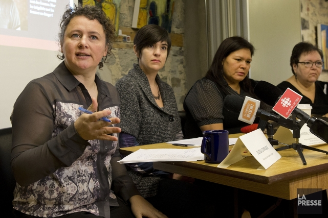 Des organisations féministes vont lancer une campagne de... (PHOTO ROBERT SKINNER, LA PRESSE)