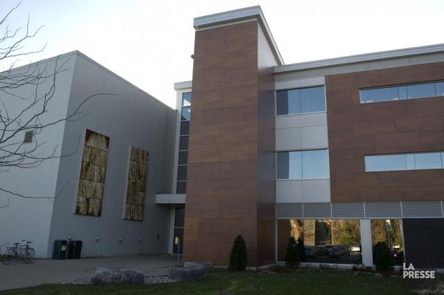L'édifice du CIPP sur le campus de l'UQTR.... (Photo: Stéphane Lessard)