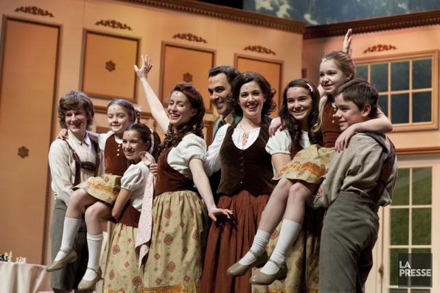 La mélodie du bonheur... (Photo: archives La Presse)