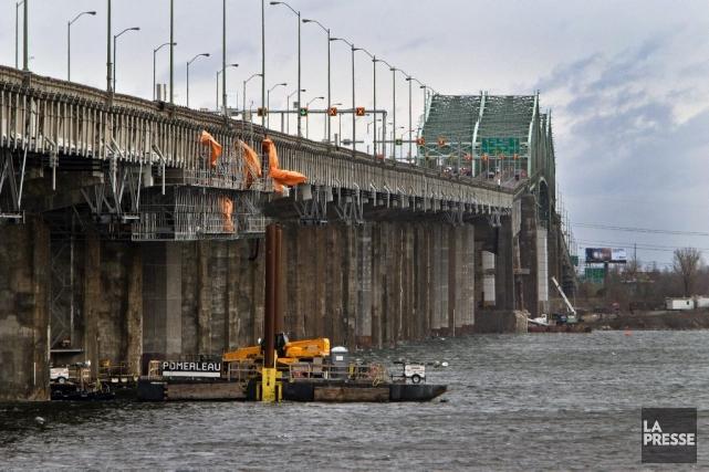 Un ouvrage comme le pont Champlain devrait avoir... (Photothèque Le Soleil)