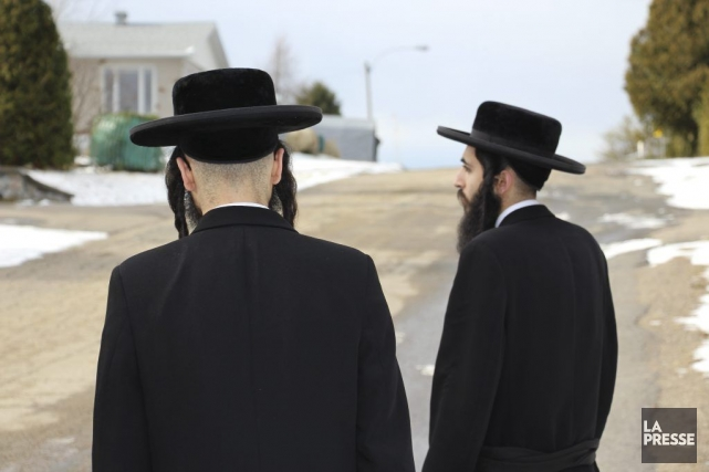 Cette photo a été prise dans le quartier... (Photo La Presse)