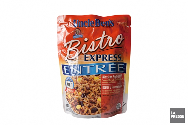 Boeuf à la mexicaine Bistro Express d'Uncle Ben's... (PHOTO ANNE GAUTHIER, LA PRESSE)
