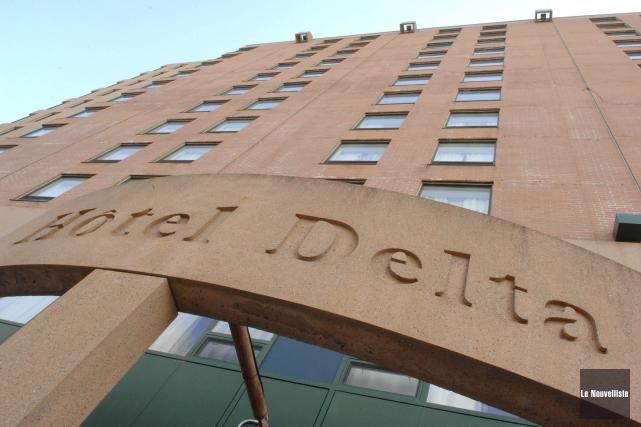L'Hôtel Delta à Trois-Rivières.... (Photo: Archives Le Nouvelliste)