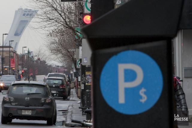 La société en commandite Stationnement de Montréal est... (PHOTO IVANOH DEMERS, archives LA PRESSE)