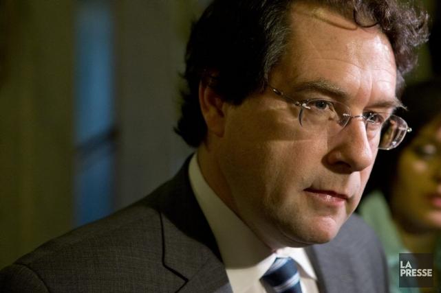 Bernard Drainville... (Photo Ivanoh Demers, La Presse)