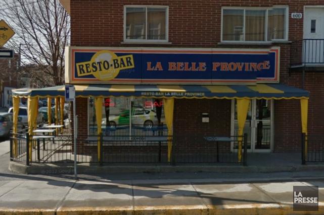 Un restaurant La Belle Province du quartier Verdun où la coke était vendue... (Photo tirée de Google Maps)
