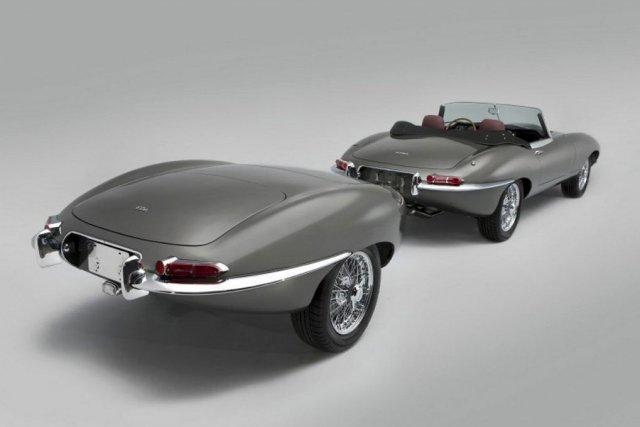 Classic a pris deux arrières de Jaguar pour... (Photo Classic Motor Cars)