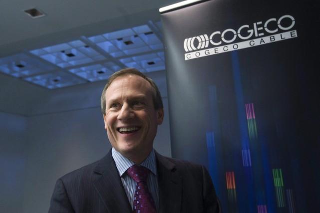 Louis Audet, PDG du câblodistributeur Cogeco.... (Photo Nathan Denette, archives La Presse Canadienne)
