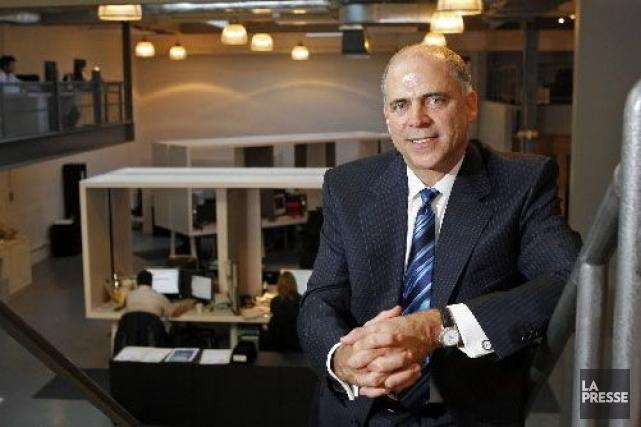 Pierre Fitzgibbon, président et chef de la direction... (Photo: Robert Mailloux, La Presse)
