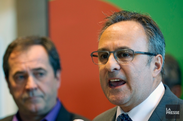 Daniel Boyer a succédé à Michel Arsenault comme... (PHOTO OLIVIER JEAN, ARCHIVES LA PRESSE)