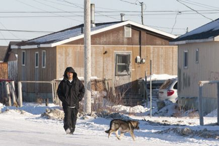 La situation des habitants d'Attawapiskat a fait l'objet... (PHOTO ARCHIVES LA PRESSE CANADIENNE)