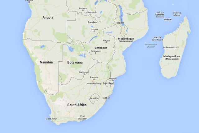 Un avion de la compagnie mozambicaine LAM à destination de l'Angola a été... (Capture d'écran de Google Maps)
