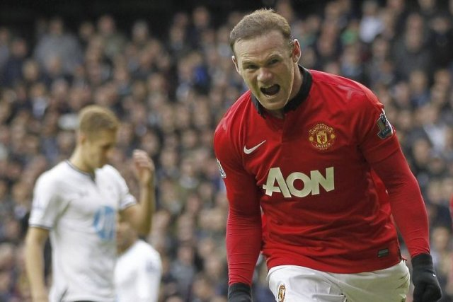 Wayne Rooney... (PHOTO IAN KINGTON, AGENCE FRANCE PRESSE)