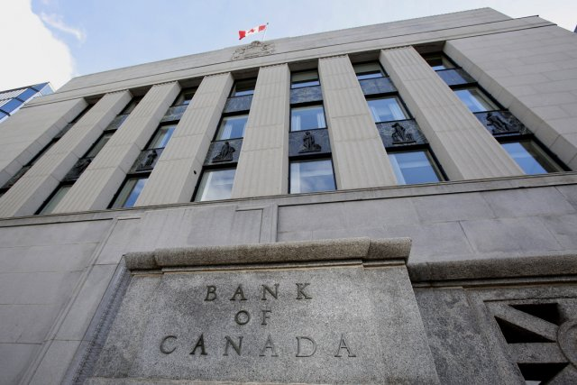 L'édifice de la Banque du Canada, à Ottawa.... (PHOTO BLOOMBERG)