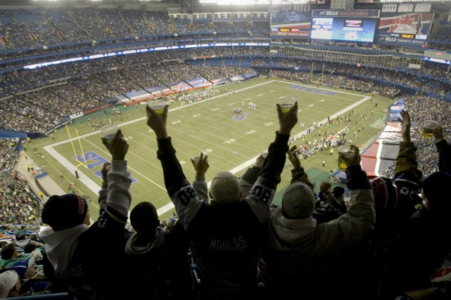 Les Bills de Buffalo disputaient des matchs au... (Photo archives Reuters)