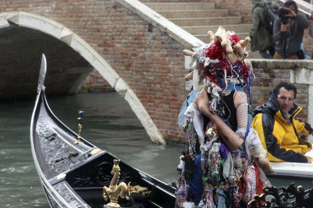 À la Biennale de Venise, l'artiste montréalaise Raphaëlle... (Photo: fournie par la Galerie de l'UQAM)