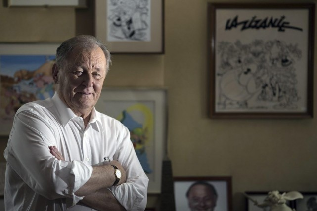 Albert Uderzo en octobre 2012.... (Photo: archives AFP)