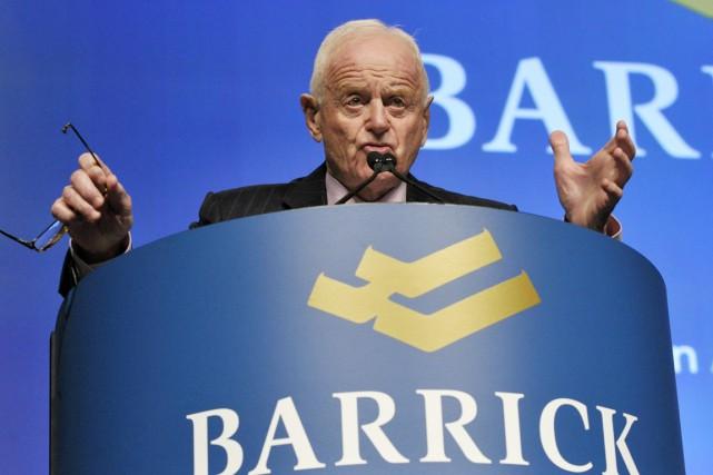 Peter Munk, lefondateur de etcoprésident deBarrick Gold.... (PHOTO ARCHIVES REUTERS)