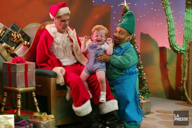 Billy Bob Thornton dans Bad Santa.... (Photo d'archives, La Presse)