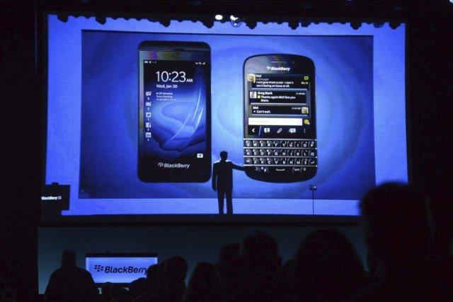 BlackBerry (T.BB)poursuit Typo Products, une compagnie... (PHOTO ARCHIVES LA PRESSE CANADIENNE)