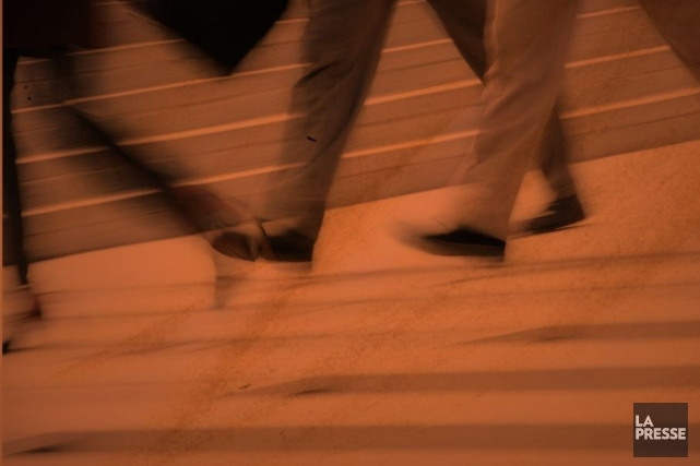 «C'est assez clair qu'on est plus stressés en ville tout simplement parce qu'on... (Photomontage La Presse)