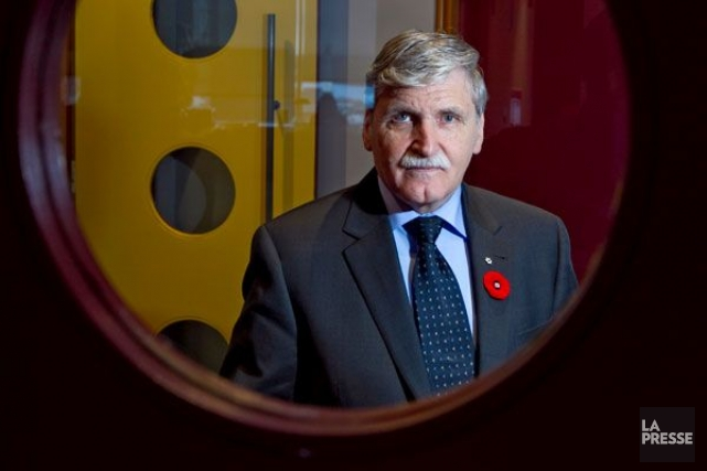 Roméo Dallaire... (Photo archives La Presse)