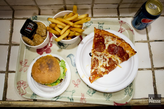 Les sujets qui consommaient le plus de malbouffe... (PHOTO MARCO CAMPANOZZI, LA PRESSE)