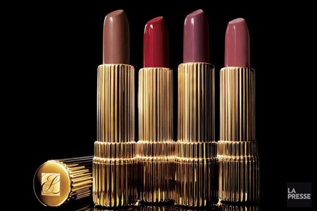 Le groupe de cosmétiques américain Estée Lauder (EL) a terminé... (PHOTO ARCHIVES LA PRESSE)