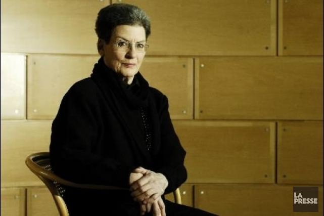 Phyllis Lambert... (Photo: archives La Presse)