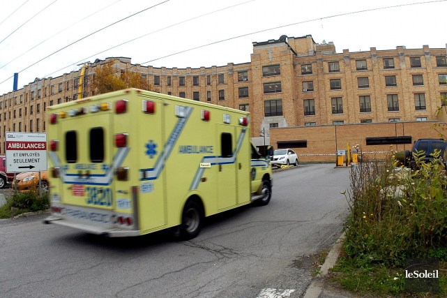L'hôpital de l'Enfant-Jésus à Québec... (Photothèque Le Soleil, Jean-Marie Villeneuve)