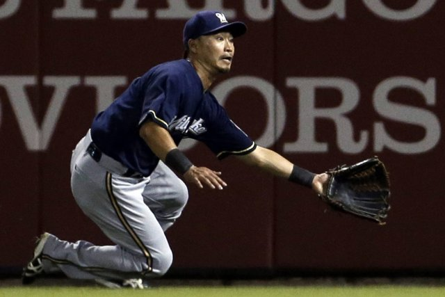 Norichika Aoki... (Photo Jeff Roberson, AP)