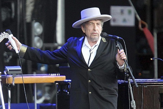 Bob Dylan... (PHOTO DAVID VINCENT, ASSOCIATED PRESS)