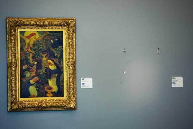Plusieurs tableaux de Matisse, Picasso et Monet ont... (Photo: archives AFP)