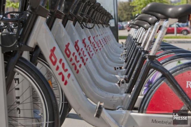 L'entreprise de vélos en libre-service Bixi aura une seconde vie. Après des... (Photo Hugo-Sébastien Aubert, Archives La Presse)