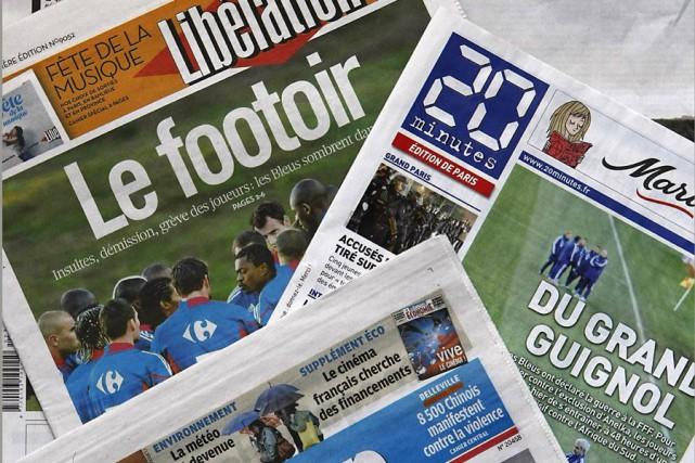 Partout, les ventes reculent: sept des huit grands... (AFP)