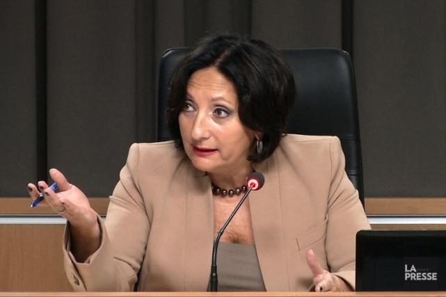La juge France Charbonneau... (Image La Presse)