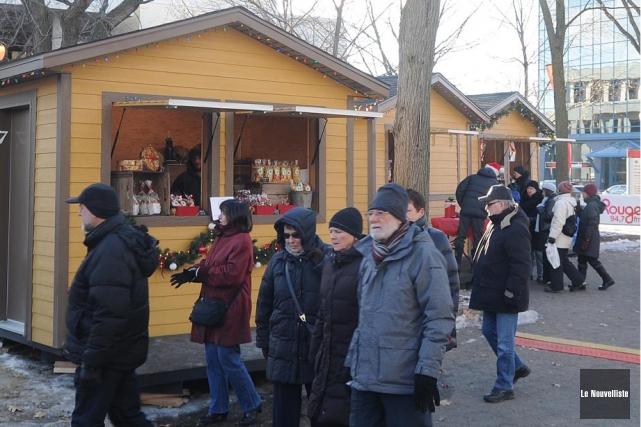 Le Marché de Noël de Trois-Rivières se tiendra... (Photo: Syvain Mayer, Le Nouvelliste)