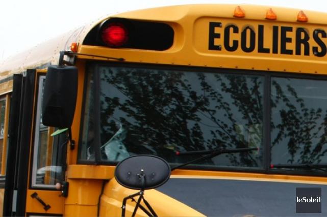 Les élèves de l'école Euclide-Lanthier termineront l'année scolaire... (Photothèque Le Soleil)