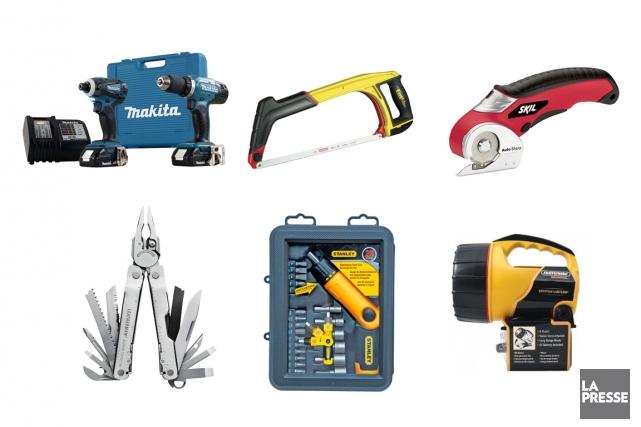 Pas besoin d'être un «pro» pour désirer des outils de qualité. En fait, on a... (PHOTOMONTAGE LA PRESSE)